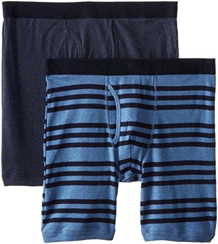 Tommy Hilfiger 男式纯棉平角内裤 2条装图片