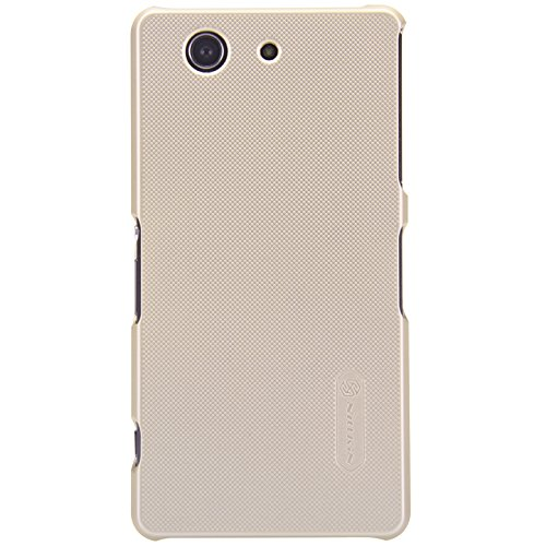 Sony Xperia C4 Case - IVSO® Sony Xperia C4 - Super Frosted Shield Cover High Quality Case+ Crystal Clear Screen Protector -will only fit Sony Xperia C4 phone (Gold)