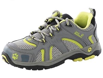 Jack Wolfskin  KIDS MOUNTAIN RUNWAY, Chaussures de randonnée garçon - Vert - wild lime, 29 EU