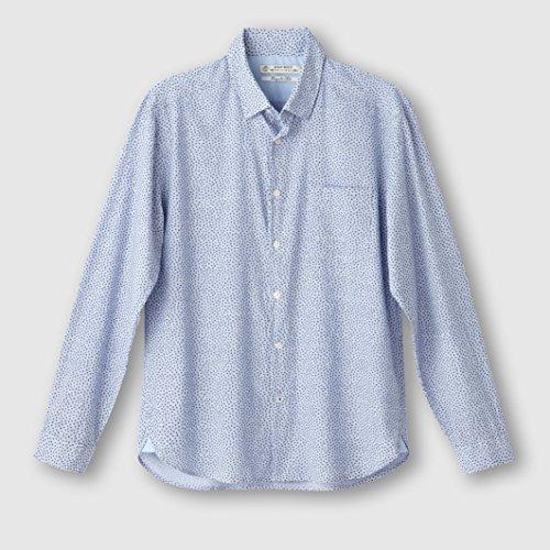 Esprit Mens Long-Sleeved Printed Shirt