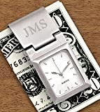Personalized Watch Money Clip