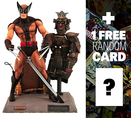 Wolverine: Marvel Select x Diamond Select Action Figure + 1 FREE Official Marvel Trading Card Bundle