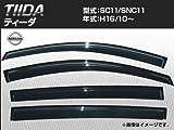 AP サイドバイザー ノーマルタイプ APNI22 日産 ティーダ SC11 SNC11 2004年10月〜