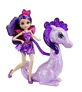 Barbie Princess Charm School Princess Assistant Purple Fairy And Dragon