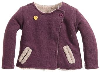 Noppies Baby - Mädchen Weste 34568-G Cardigan sweat rev Fox, Gr. 50, Violett (purple)