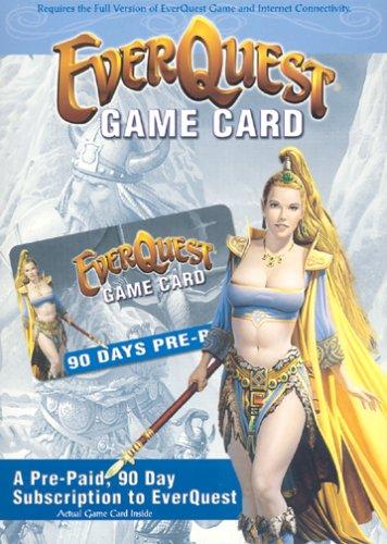 EverQuest 90-Day Prepaid Game Card