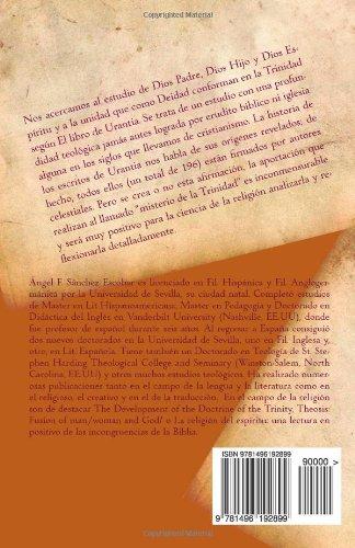 Dios Padre, Dios Hijo y Dios Espíritu, y la Trinidad del Paraíso: (Según El libro de Urantia): Volume 1 (Temas de El libro de Urantia)