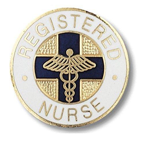 EMI-Registered-Nurse-RN-Emblem-Pin-Round-Blue-Cross