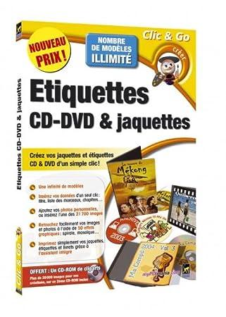 Etiquettes CD-DVD & jaquettes