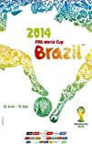 FIFA World Cup  Brazil 2014  Soccer Event Poster 1121517