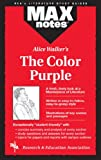 Christopher A. Hubert MAX Notes on Alice Walker's The Color Purple