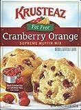 Krusteaz Fat Free Cranberry Orange Supreme Muffin Mix 18.6 Ounce