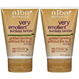Amazon Com Alba Botanica Very Emollient Sunless Tanning