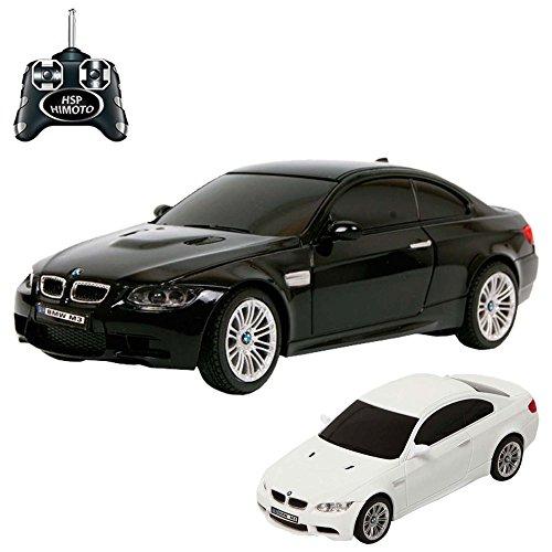 BMW-M3-RC-ferngesteuertes-Lizenz-Fahrzeug-im-Original-Design-Modell-Mastab-124-inkl-Fernsteuerung
