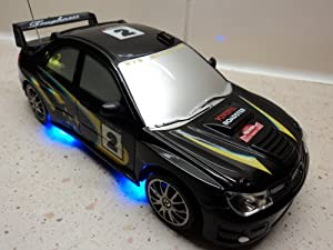 Subaru Impreza WRC Style 4WD Radio Remote Control Car RC Drift Car 1/24 Scale by EXPRESS DVD