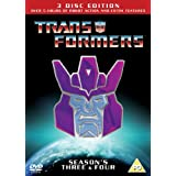 Transformers Season 3 & 4 - Re-Release [DVD] [1984]by Frank Welker