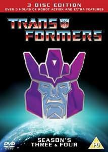 METRODOME ENTERTAINMENT Transformers - Season 3 And 4 [DVD]