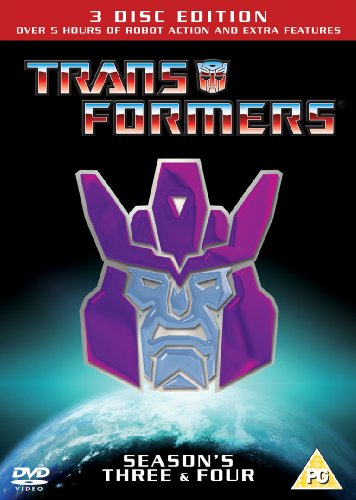 Transformers Season 3 & 4 - Re-Release [DVD] [1984]