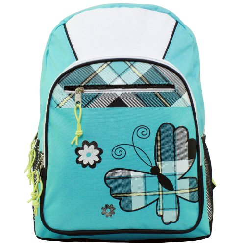 American Princess Turquoise Butterfly Backpack