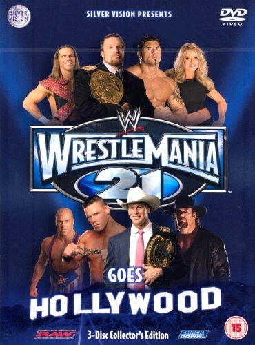 WWE - Wrestlemania 21 [3 DVDs] [UK Import]