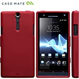 Case-Mate docomo Xperia NX SO-02D Safe Skin Emerge Smooth, Redセーフスキン エマージ・スムース TPUケース, レッド CM020321