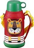 TIGER <サハラ> ステンレスボトル ライオン 0.6L ポーチ付き MBJ-A06GEL