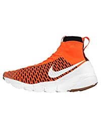 Nike Men's Air Footscape Magista SP, TOTAL ORANGE/WHITE-WHITE-BLACK