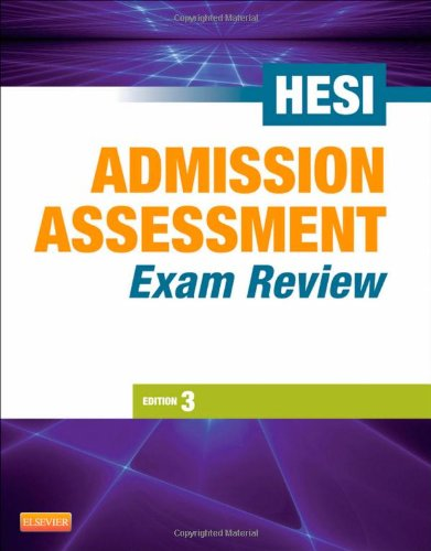 get free download admission assessment exam review 3e by hesi pdf