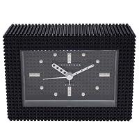 [ナノブロック]nanoblock デコレーション目覚まし時計 アラームクロック 置時計 おまけブロック付 ブラック NAAC-96904BK