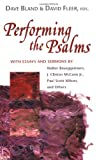 img - for Performing the Psalms book / textbook / text book