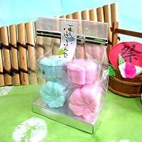 【 朝顔 落雁 】 夏 季節 の 和菓子 半 生菓子 期間限定 京都 お菓子 スイーツ おやつ  ギフト プチギフト