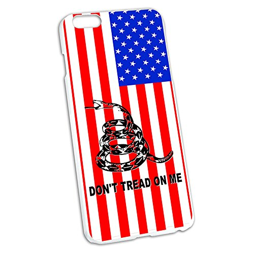 Gadsden Don'T Tread On Me Usa Flag - Tea Party Snap On Hard Protective Case For Apple Iphone 6 Plus