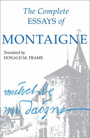 the essays of montaigne summary