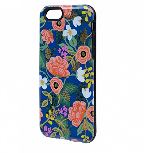 Birch Floral iPhone 6 Rubber Inlay Cell Phone Cover Rifle Paper Co. (Rifle Paper Co Iphone 5 Case compare prices)