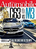 AUTOMOBILE Magazine (Subscription) 12 Months, 12 Issues