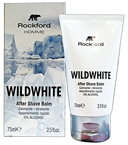 ROCKFORD Dopo Barba WILDWHITE BALM 75 Ml. Prodotti per Barba