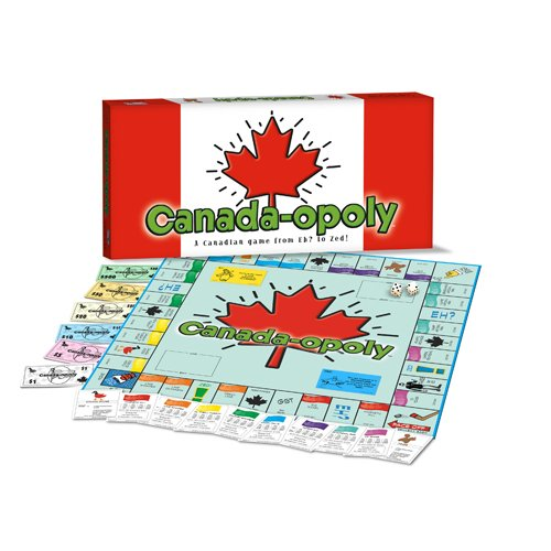 CANADA IN-A-BOX Monopoly Style Board Game