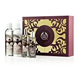 Gift Set English Dawn White Gardenia Shower Soften & Spritz FOR Birthday-Wedding-Anniversary-Mothers Day-Xmas-Ramadan-Eid-Diwali-Thanks Giving-Graduation-Thank you etc