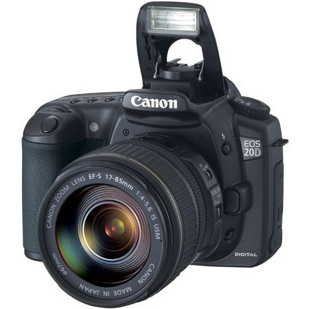 Canon Eos 20D Digital SLR Lens Kit [8MP, 3 x Optical Zoom]
