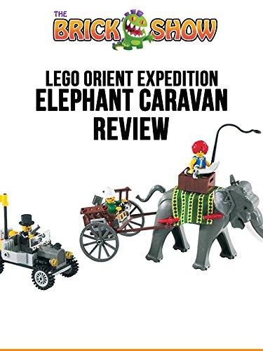 LEGO Orient Expedition Elephant Caravan Review (7414)