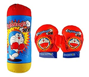 The boxing glove - Doraemon Kids toy to exercise children will have fun with the sport of boxing,