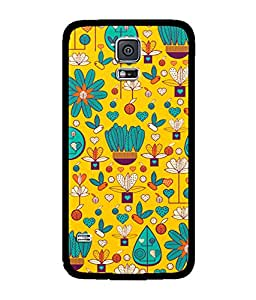 Chnno 2d pattern Printed Back Cover For Samsung Galaxy S5