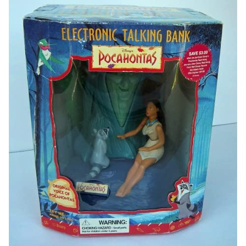 Disney Pocahontas Electronic Talking Bank: Toys & Games