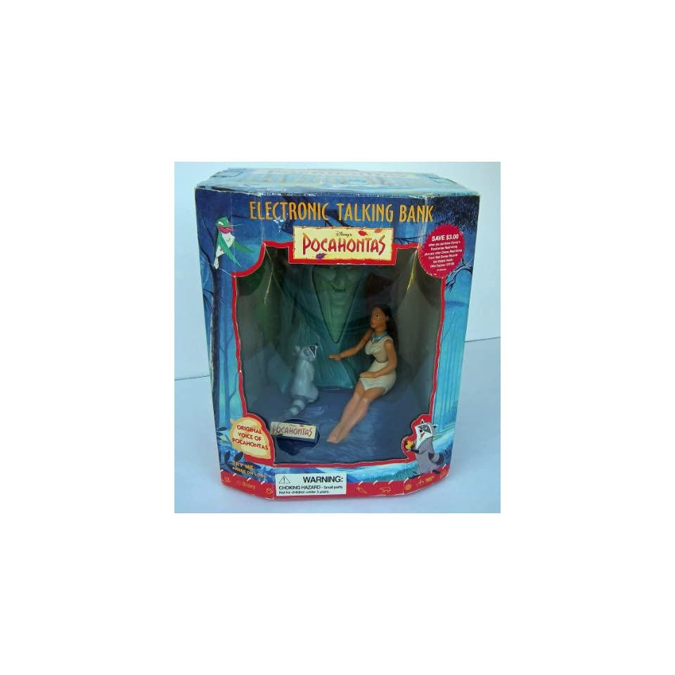 Disney Pocahontas Electronic Talking Bank