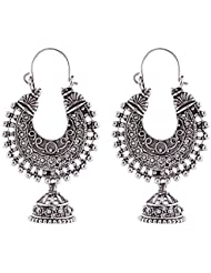 Ganapathy Gems White Metal Alloy Dangle & Drop Earring For Women 177e