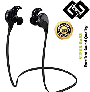 buy tagg t 07 wireless sports bluetooth headset with mic sweatproof earbuds. Black Bedroom Furniture Sets. Home Design Ideas