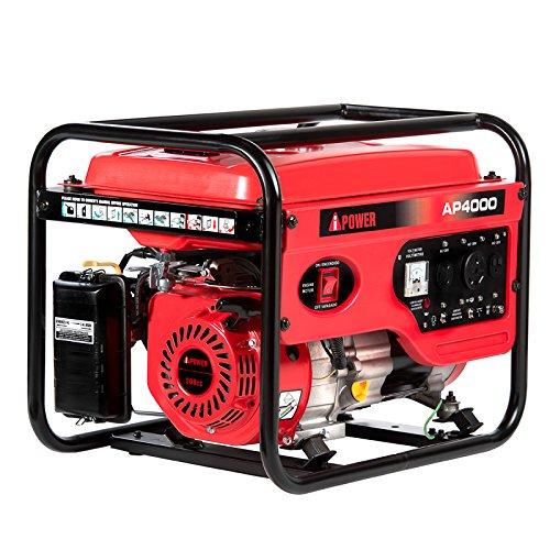 Ai Power AP4000 Gasoline Portable Generator, 4000W (High Powered Car Alternator compare prices)