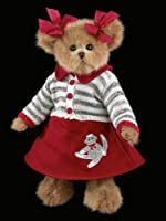 "Cindy Socks - 14"" Bearington Bear from The Bearington Collection"