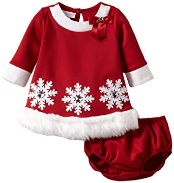 Amazon Bonnie Baby Girls Newborn Snowflake Applique