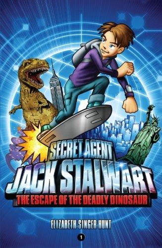 Secret Agent Jack Stalwart Book 1: The Escape of the Deadly Dinosaur PDF